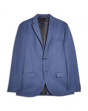 Пиджак TOPMAN. Цвет: грифельно-синий