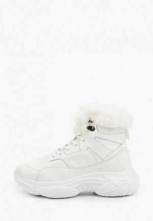 Ботинки Trien. Цвет: белый