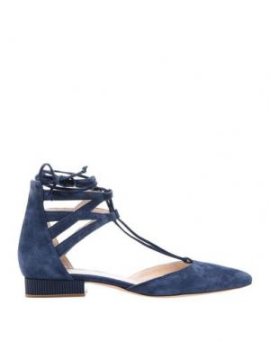 Туфли GUIDO SGARIGLIA. Цвет: темно-синий