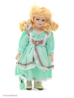 Кукла фарфор Элли 12 дюймов Angel Collection. Цвет: голубой, фиолетовый