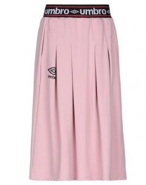 Юбка до колена UMBRO. Цвет: розовый