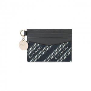 Футляр для кредитных карт Bond Givenchy. Цвет: синий