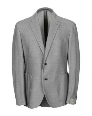 Пиджак CANTARELLI JERSEY PLANET. Цвет: голубиный серый