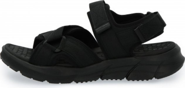 Сандалии мужские Equalizer 4.0, размер 43.5 Skechers. Цвет: черный