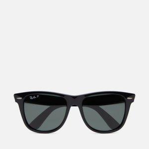 Солнцезащитные очки Original Wayfarer Classic Polarized Ray-Ban. Цвет: чёрный