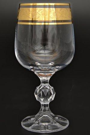 Набор бокалов для вина Bohemia. Цвет: прозрачный, золотой