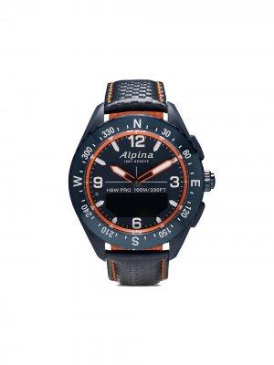 Наручные часы AlpinerX Smartwatch 45 мм Alpina. Цвет: blue-orange