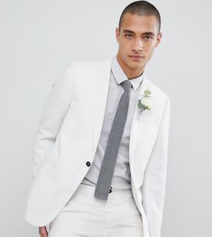 Приталенный пиджак wedding-Белый Noak