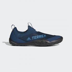 Коралловые тапочки Terrex Climacool Jawpaw adidas. Цвет: черный