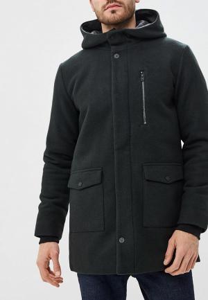 Пальто Jack & Jones. Цвет: зеленый