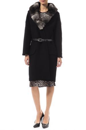Пальто VDP. Цвет: черный