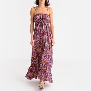 Платье с принтом на бретелях SAM SUNDRESS ANTIK BATIK. Цвет: наб. рисунок красный