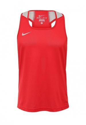 Майка спортивная Nike BOXING TANK. Цвет: красный