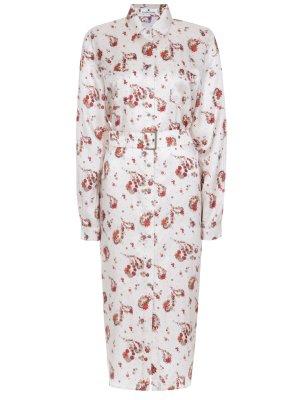Платье-рубашка с принтом LAROOM