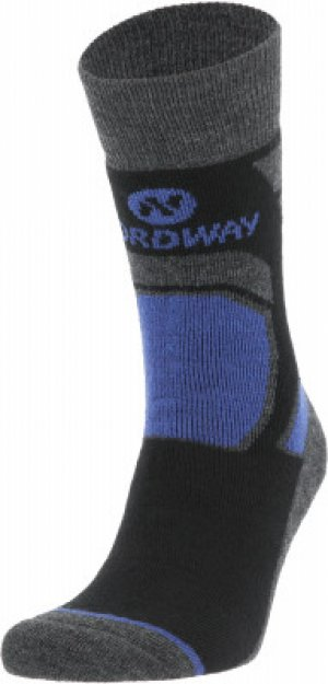 Носки , 1 пара, размер 35-38 Nordway. Цвет: черный