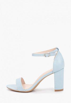Босоножки Ideal Shoes. Цвет: голубой