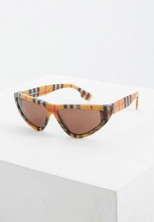 Очки солнцезащитные Burberry BE4292 377873. Цвет: бежевый