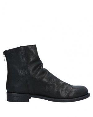 Полусапоги и высокие ботинки SANGUE. Цвет: черный