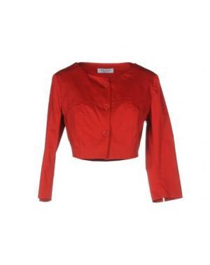 Пиджак EDAS. Цвет: красный
