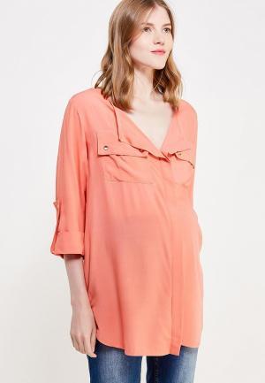Блуза 9fashion Woman. Цвет: коралловый