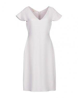 Платье до колена ANTONIO BERARDI. Цвет: светло-розовый