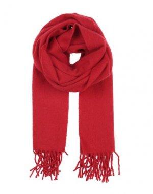 Шарф BEGG & CO. Цвет: красный