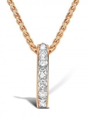 Подвеска RockChic из розового золота с бриллиантами Pragnell. Цвет: розовый