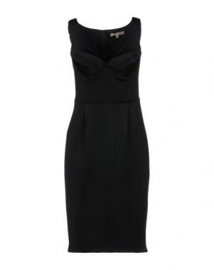 Платье до колена BETTY BLUE. Цвет: черный