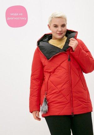 Куртка утепленная City Savani. Цвет: красный