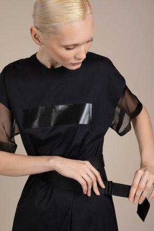 Платье в спортивном стиле VASSA&Co. Цвет: серый
