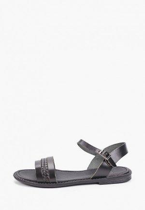 Сандалии и носки Makfine. Цвет: черный