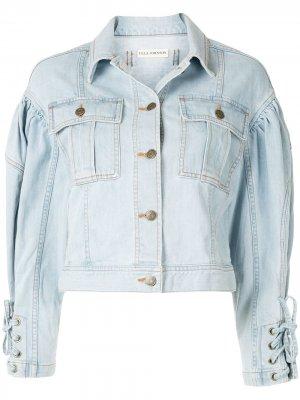 Джинсовая куртка Atticus Ulla Johnson. Цвет: синий