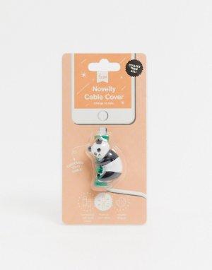 Защитный брелок для кабеля в виде панды Typo-Многоцветный TYPO