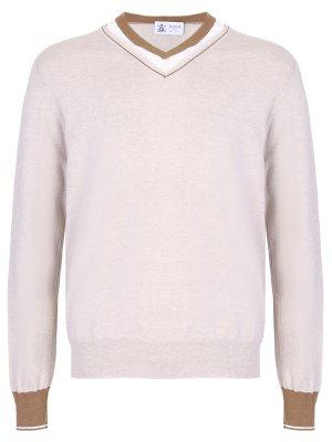 Хлопковый пуловер DALMINE