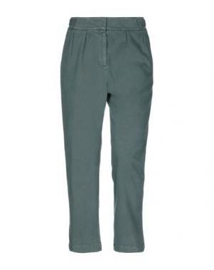 Повседневные брюки CAPPELLINI by PESERICO. Цвет: темно-зеленый