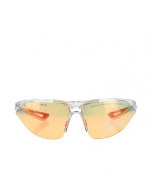 Солнечные очки NIKE. Цвет: прозрачный