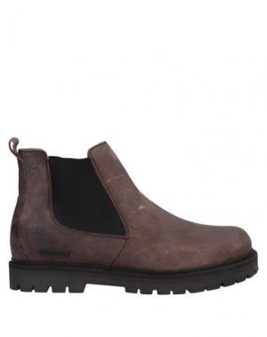 Полусапоги и высокие ботинки BIRKENSTOCK. Цвет: коричневый