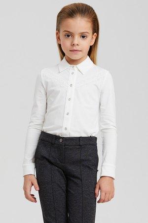 Блуза Silver Spoon. Цвет: белый