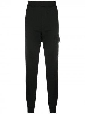 Спортивные брюки C.P. Company. Цвет: черный