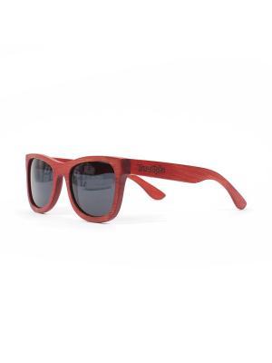 Очки TRUESPIN Bambu Merah True Spin. Цвет: красный