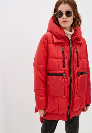 Куртка утепленная Canadian. Цвет: красный