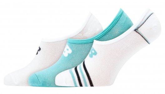 Носки Ultra-Low No-Show New Balance. Цвет: белый