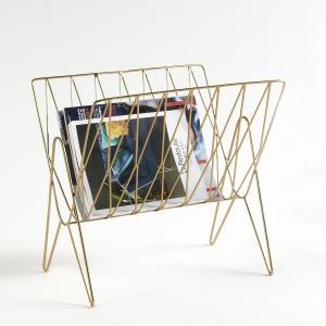 Подставка для журналов Niouz LA REDOUTE INTERIEURS. Цвет: латунь