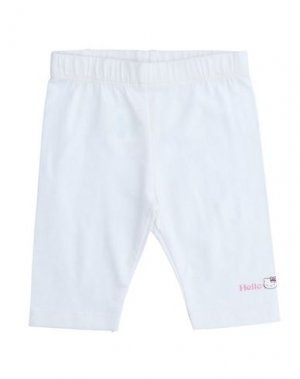 Повседневные брюки HELLO KITTY. Цвет: белый