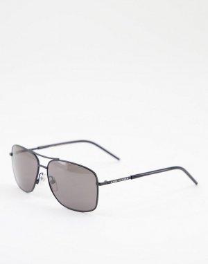 Черные солнцезащитные очки с металлической квадратной оправой -Черный цвет Marc Jacobs