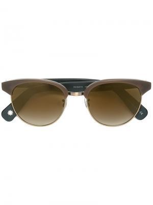 Солнцезащитные очки Redbury Paul Smith. Цвет: коричневый