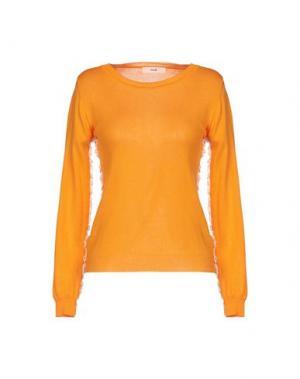 Свитер SUOLI. Цвет: оранжевый