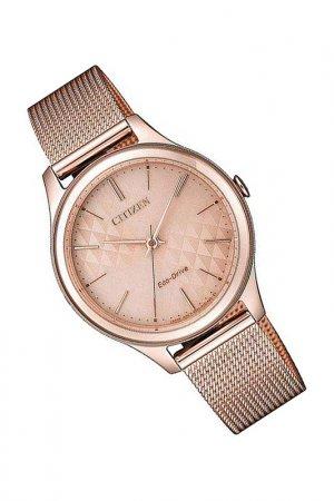 Наручные часы CITIZEN. Цвет: розовый