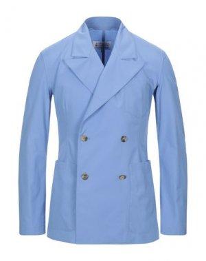Пиджак MAISON MARGIELA. Цвет: лазурный