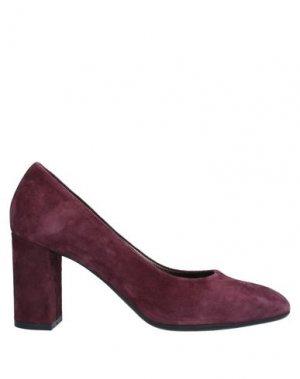 Туфли CRISTIAN DANIEL. Цвет: красно-коричневый